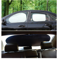 Wholesale 6pcs Windshield Sunshades Sun Protector Car Hippo Window Shades Included with front shade rear window shades side shades
