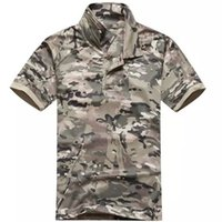 acu collar - Casual Collared T Shirt Men CoolMax T Shirt Tactical T Shirt Quick Dry Mandrake Typhon Highlander Multicam ACU AT JD