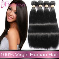 Wholesale 2016 Selling Peruvian Straight Human Hair Weaves Bundles Peruvian Straight Vvirgin Hair Extensions A Mink Unprocessed Peruvian Hair Weaves