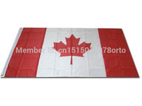 activities office - New fashion cm Canada National Flag Banner Office Activity parade Festival Home Decoration