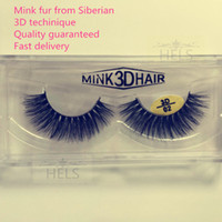 Wholesale high quality mink fur eyelashes D style fashionable all handmade AAAAA