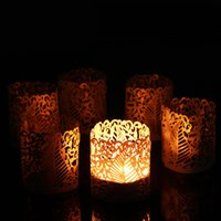best table settings - Hot Style Cheapest set Romantic Tea Light Candle Holder Votive Lampshade for Banquet Party Table Best Dinner Ornament Decor