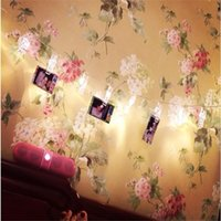 Wholesale 1 M Mini led clip string lights battery Christmas lights new year party wedding home decoration fairy lights battery