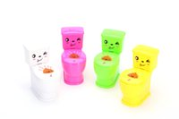 animal toy manufacturers - Small toilet toilet toilet manufacturers New creative gift wacky gadgets spoof entire toy astonished spray toilet children s toys
