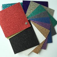 Wholesale JC Pack eco friendly quot colorful glitter paper glitter cardstock paper for child diy craft