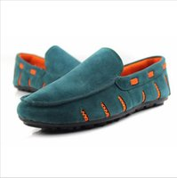 Cheap 2016 Spring Summer Men's Loafers Shoe New British Style Fashion Moccasins Slip On Casual Flats Lazy PU Leather Driving Shoes