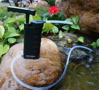Wholesale New Explorer outdoor drinking water filter purifier for hiker fishing emergency camping army flooding