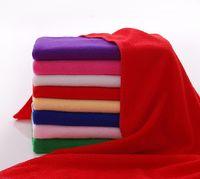 baby wax - 30x70CM quot x27 quot Microfiber D Car Cleaning Towel Microfibre Detailing Polishing Scrubing Waxing Cloth Hand Towel