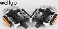 Wholesale Brand New Wellgo LU C25 Road Bike Mountain Bike Alloy quot Platform high quality Pedals