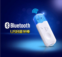 Wholesale 2016 car Upgraded version of USB Bluetooth stereo audio receiver Bluetooth adapter wired to wireless audio