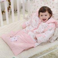 Wholesale Swaddle Baby Sleeping Bag Winter Baby Sleepsacks Sleeping Bags Baby Swaddling Newborn Sleepsacks Cotton Blanket Baby Bedding Sleeping Bags