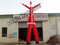 air dancer tube - 2 Legs advertising big inflatable air dancer sky tube Christmas sky dancer
