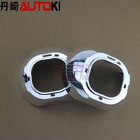 al por mayor hella proyector-El envío libre universal 3.0 de la lente del proyector S-MAX con el anillo plástico para Koito Q5 Hella G3 Hella G5 WST con los anillos de la PC
