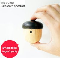 bag with speakers - FOR PROMOTION Newest Rechargeable Mini Nut Bluetooth Speaker with elegant shape can put in your pocket or bag like your walkman
