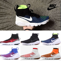 brazil shoes - Nike Air Footscape Magista SP Running Shoes Men High Quality New Authentic Jogging Sneakers Cheap Brazil Color Sports Shoes Size