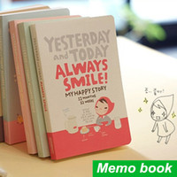 accounting week - Cute Notebook Red hat girl Agenda week plan Diary Day planner journal record stationery office School supplies