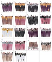 Wholesale Makeup Brushes Eye Shadow Brushes Professional Make up Brush Set Tools kabuki kit Set Cosmetics Makeup Brushes Maquiagem