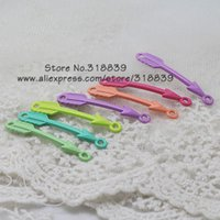 Wholesale Light color Enamel Mixed Alloy Arrow Connectors Jewelry Connectors Findings Fit Jewelry Making mm