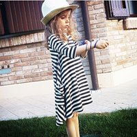 Wholesale Baby and Mom Dress Girl Dress Family Look Women Kids Pajamas Children Clothing Stripe Family Fitted Family Clothing