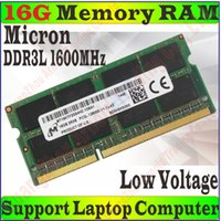 Wholesale Original Micron Memory RAM PC3L s g GB g GB DDR3L MHz FOR Laptop Notebook PC Compatible MHz PC3L S PROM5