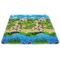 Wholesale 150 cm Baby Toys Foam Vhildren s Play Mat Floor Kids Rug Carpet for Children Letter Animal Paradise Safety Kids Climb Blanket