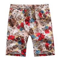 arrival bermuda shorts - New Arrival Fashion Men Casual Board Shorts bermuda masculina Loose Print Boardshorts Beach Men Shorts Plus Size CC102