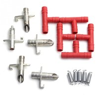 Wholesale 5 SETS Rabbit Nipple Water Drinker Waterer Poultry Feeder Bunny Rodent Mouse OF