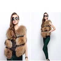 Wholesale Fashion Autumn and Winter Fur Vest Imitation Fur Vest Coat High Imitation Fox Fur Casual Warm