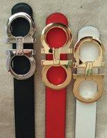 Wholesale 2016 original designer Big buckle belts men high quality mens belts luxury men designer leather belt free epacket shipping