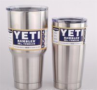 best quality vehicles - Cheapest best quality Yeti oz oz Cups Cooler YETI Rambler Tumbler Travel Vehicle Beer Mug Double Wall Bilayer Vacuum Insulated