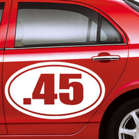 auto murals - Numbers Decals Car Sticker Simple Design PVC Removable Auto Cars Windows Decor Murals