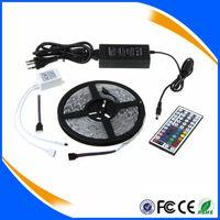 rgb led price - Best Price CE RoHS Flexible Led Strip Light Stripe RGB SMD Leds m Waterproof Keys IR Remote Controller Power Adapter
