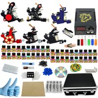 big bag machine - New Arrival tattoo kit tool bag big configuration complete tattoo equipment machine color tattoo machine suit