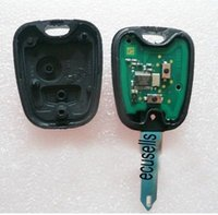 batteries transponders - car car For Peugeot Transponder Key with PCB Battery with ID chip MHZ