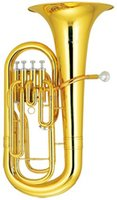 Wholesale Bb Four Piston Euphonium Brass Body with wood case Musical instruments Factory Supply