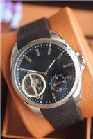 auto glass specials - Special price new luxury pendulum caliber men automatic sports watch rubber strap original clasp glass back transparent quality