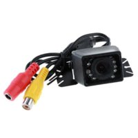 E327 9 LED impermeable color CMOS coche retrovisor de copia de seguridad de copia de seguridad cámara cámara dslr controlador