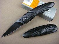 aluminum oxide finishes - Top quality GB X16 Pocket folding knife C HRC Black oxide finish blade knife Aluminum handle EDC knives with Original retail box