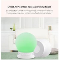 asia phone cards - New Arrival White Silicon Table Lamp Portable Bluetooth Speaker LED Night Light with Mic for Mobile Phone Support TF Card