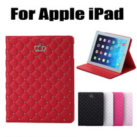 apple sheeps - Sheep Leather Case For iPad Air Smart Luxury Crown Leather Case Stand Cover For iPad Mini iPad