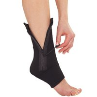 Wholesale Ankle Genie Zip Up Compression Support Foot Brace Sock for Travel Sports Compression Sleeve For Pain Relief