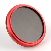 Wholesale FOTGA Slim Fader ND Filter Variable ND2 ND4 ND8 to ND400 for Canon Red Ring mm mm mm
