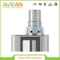 add technology - 100 Original Joyetech Cuboid Mini Atomizer ml Capacity Exclusive TFTA Tank Technology with Newly Added NotchCoil Invisable Airflow