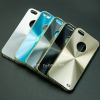 cd covers - TPU Hybrid CD Pattern Aluminum Alloy Metal Back Cover Case For Apple IPhone Plus G G