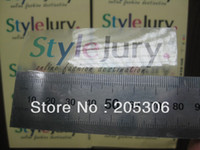 advertisement sticker - Customized Transparent PVC label sticker Color Printing for company advertisement