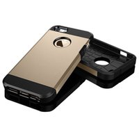 Wholesale Spigen Slim Armor Phone Case for Iphone S G s G plus Dual Layer Cell Phone Case Cover OPP bags