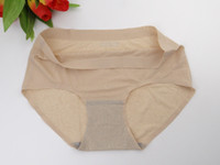Wholesale The new Women s Panties ice silk and refreshing underwear triangle big yards of female briefs