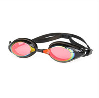 Wholesale 2016 Copozz swim goggles plating mirror swimming goggles waterproof for men and women adult sport anti fog UV Waterproof goggles