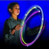kids hula hoop - Children Novelty Gag Toys Light Up Toys USA FyrFlyz Flashing Lights Hula Hoop For Boys and Girls