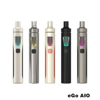 Wholesale 100 Original Joyetech EGo Aio Kit ohm mah Battery Mod E Cigarette Kit with ml Atomizer Cheap E Cigarette China